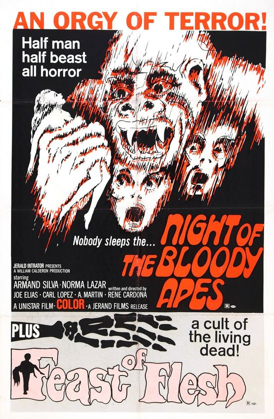 Night of the Bloody Apes movie