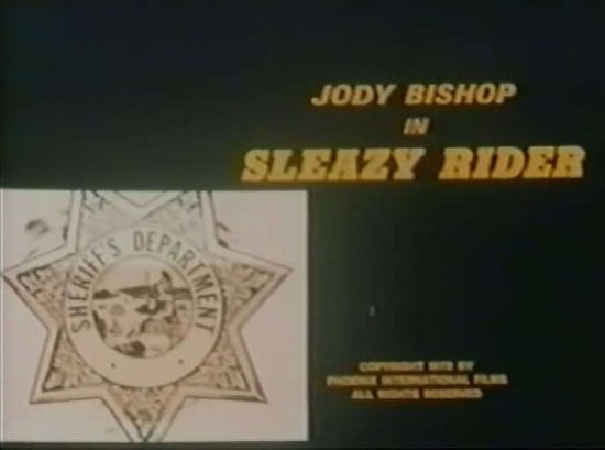 Sleazy Rider movie