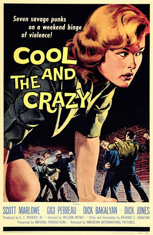 The Cool and the Crazy (1958) movie