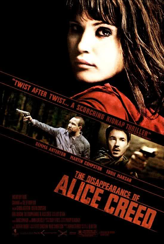 The Disappearance of Alice Creed movie
