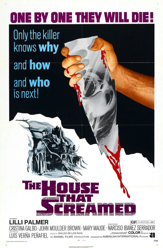 House That Screamed movie