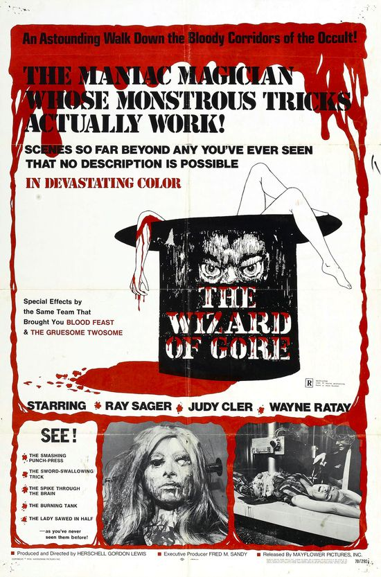 The Wizard of Gore movie