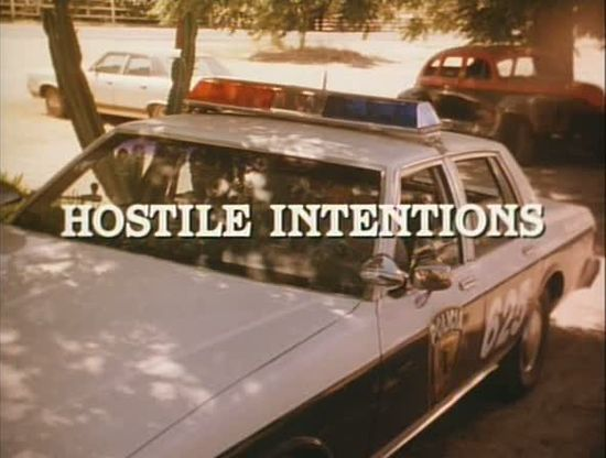 Hostile Intentions movie